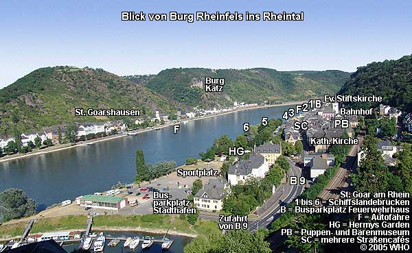 Hotels St Goar Germany